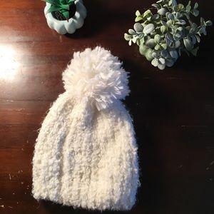 Adorable White Snow Beanie ❄️